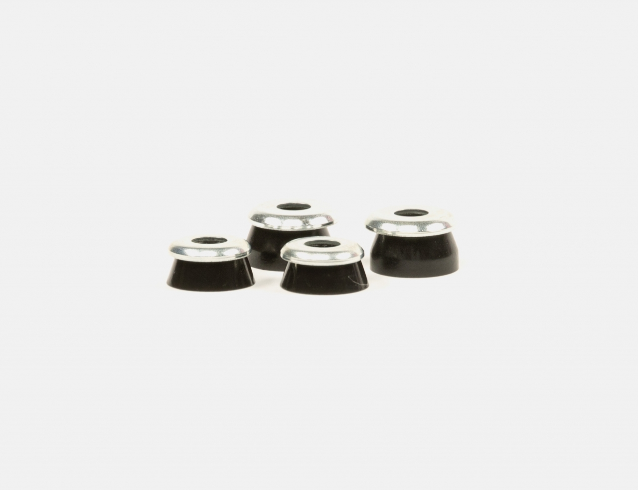 Independent Standard Conical Cushions Hard 94A Bushings - Black