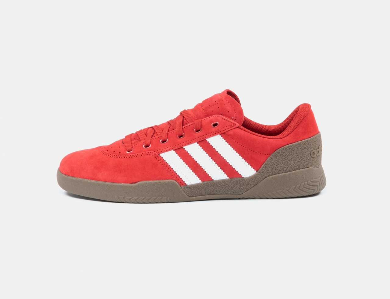 Adidas City Cup Sneaker - Red/Gum