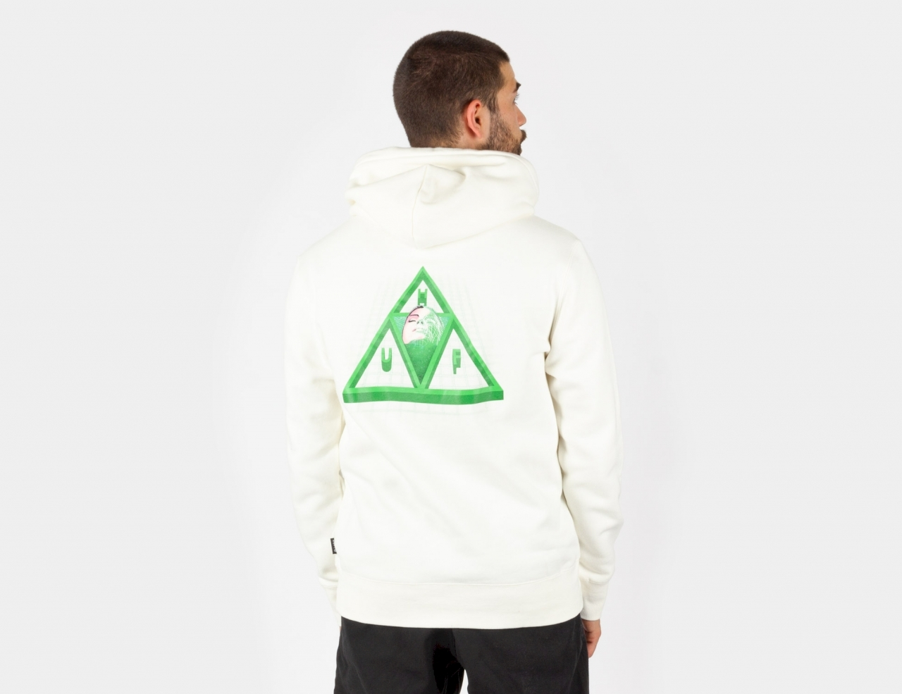 HUF HUF Digital Dream TT Hoodie - white