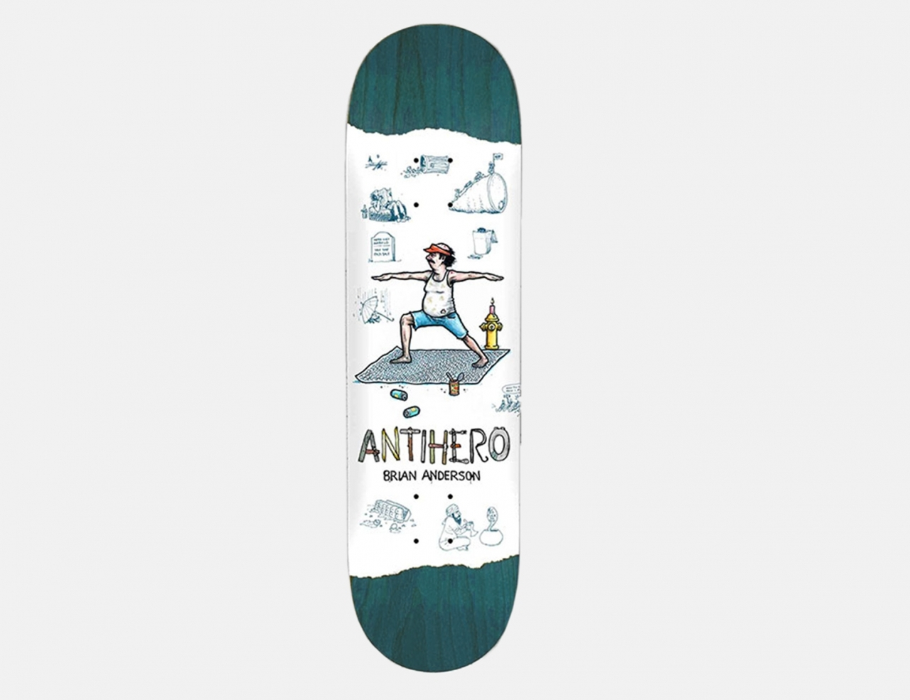 Anti Hero Anderson Recycling 8.5 Deck