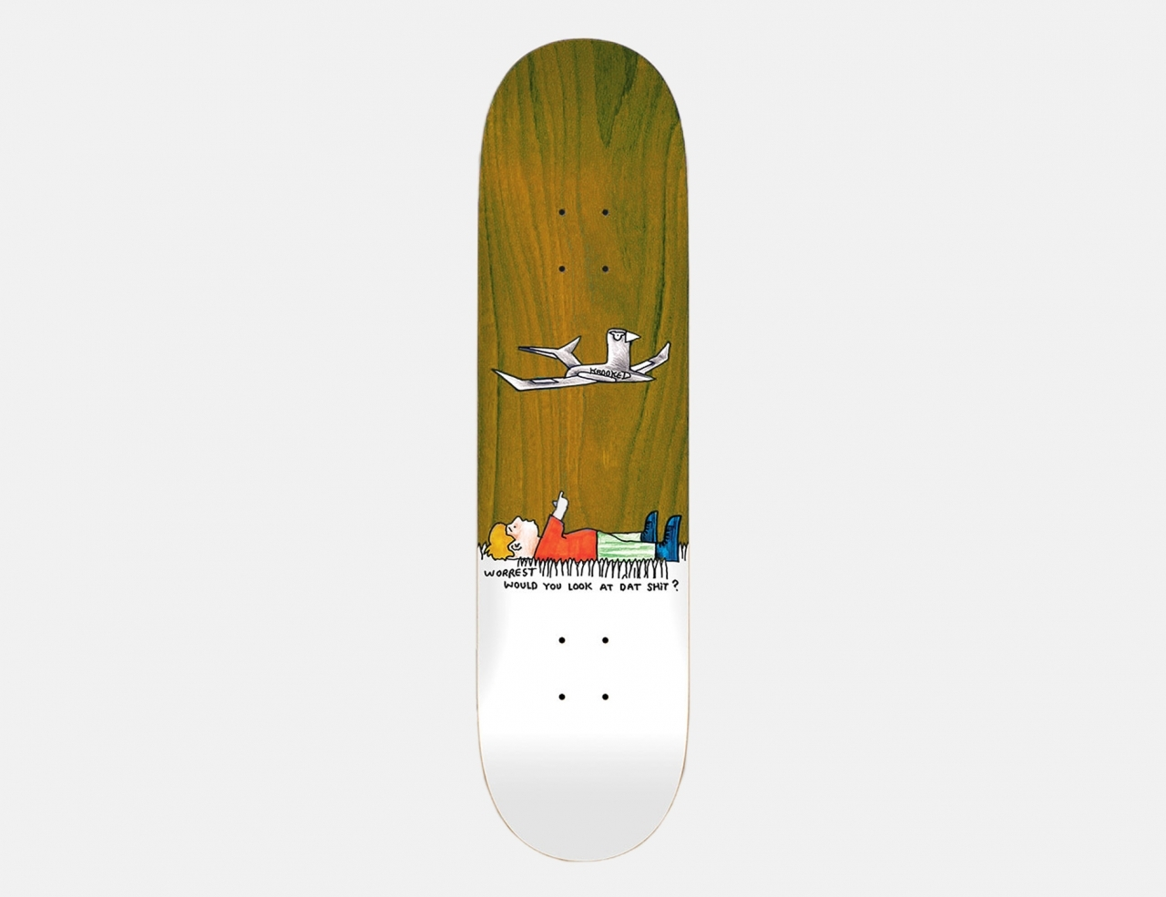Krooked Worrest Would You? 8.3 Deck