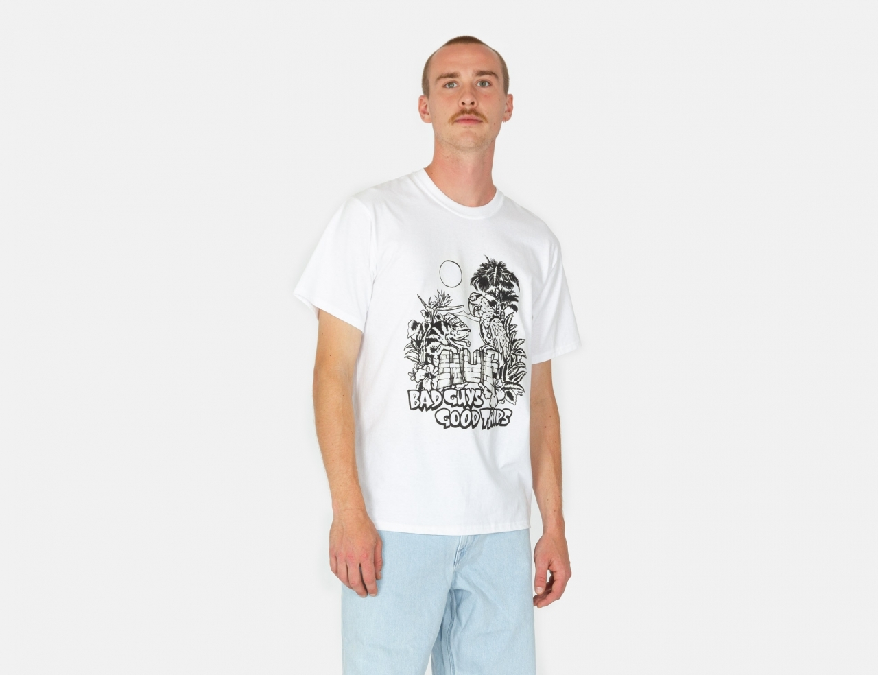 HUF Vacation UV Color T-Shirt - White
