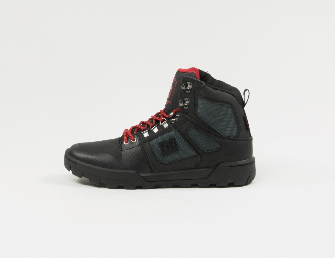 DC Shoes Pure HT WR Boots - Black / Grey / Red