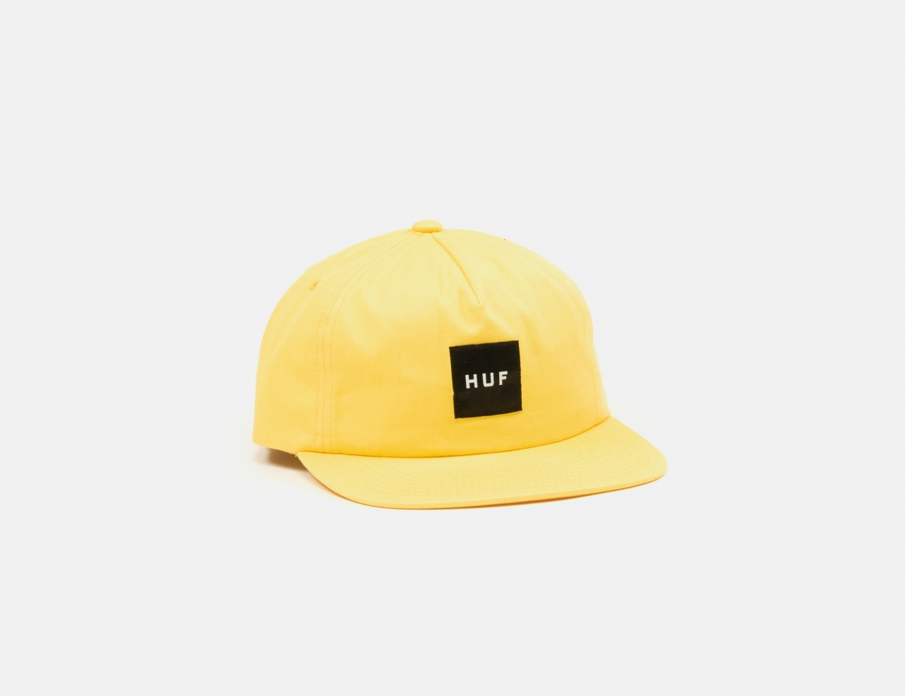 HUF Unstructured Box Snapback Cap - golden spice