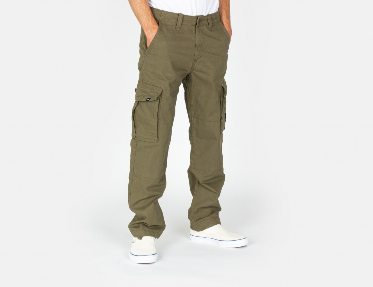 Reell Jeans Flex LC Cargo Pant - Clay Olive