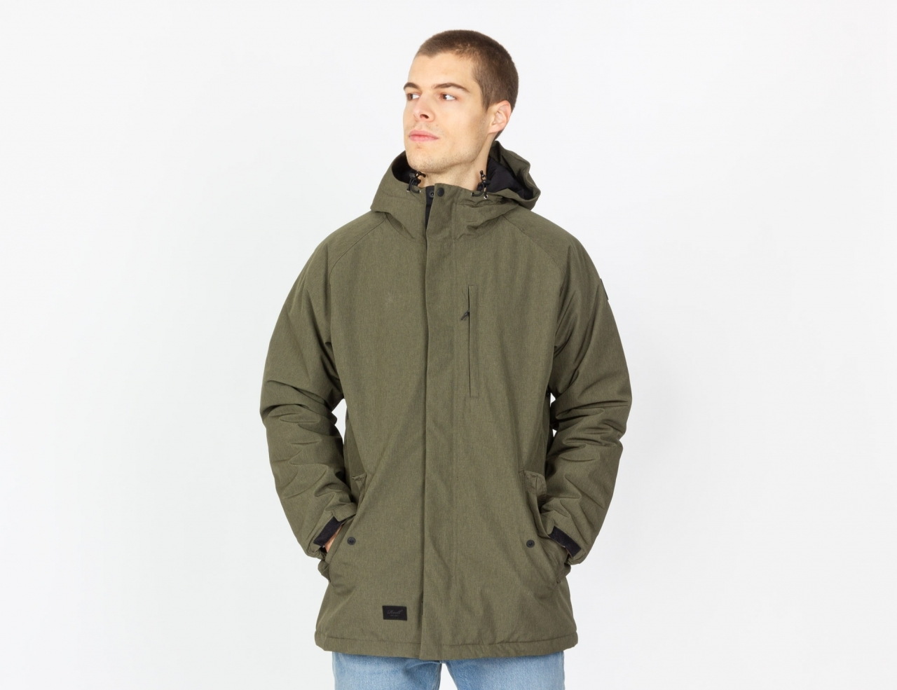 Reell Jeans Padded Parka - Olive