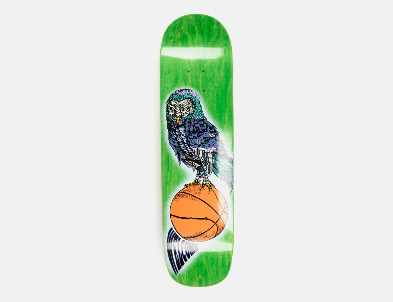 Welcome Hooter Shooter on Bunyip 8.0 Deck - Green