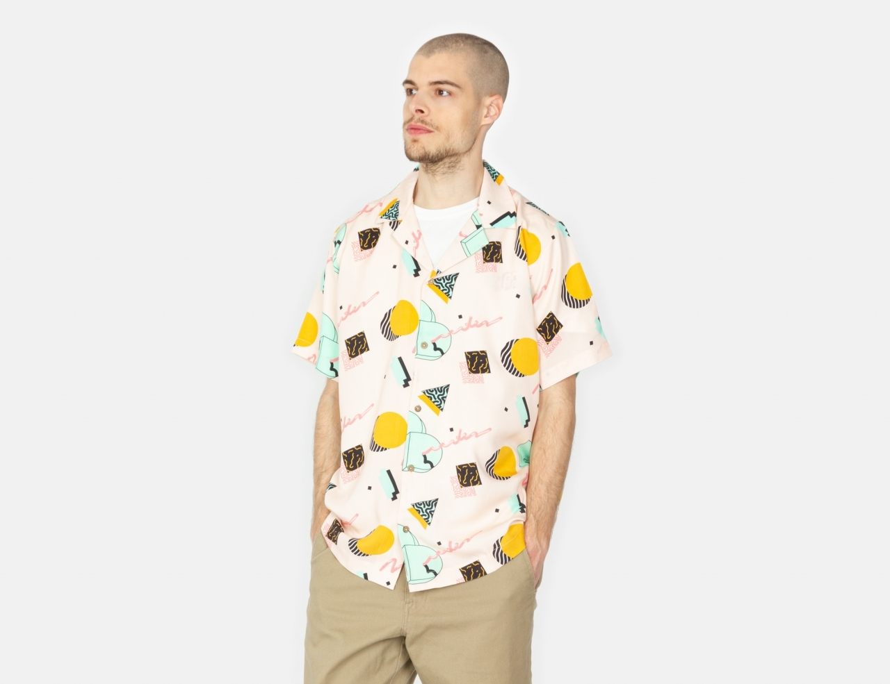 The Dudes DD S/S Shirt - Pink