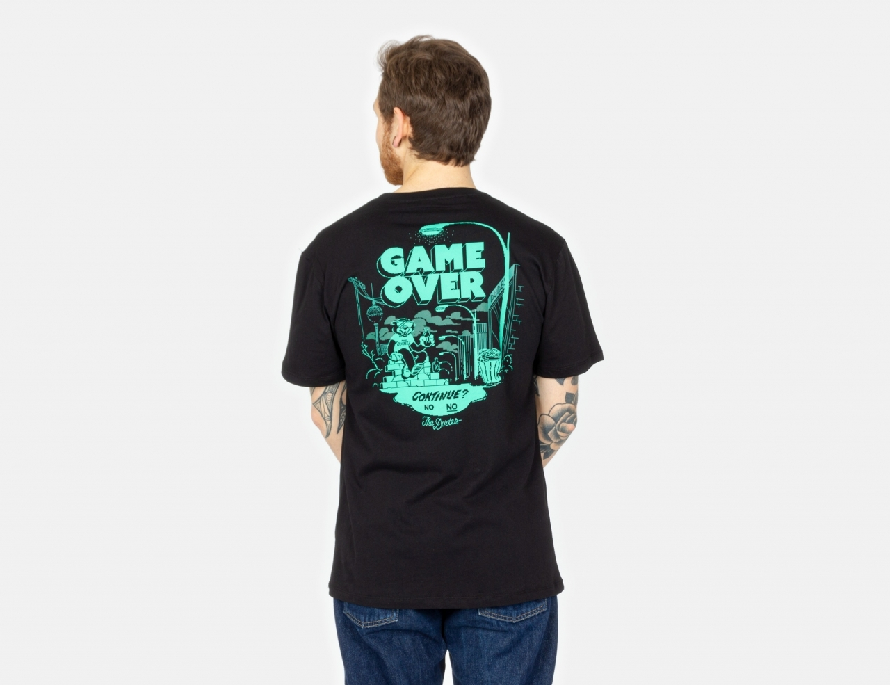 The Dudes Game Over T-Shirt - Black