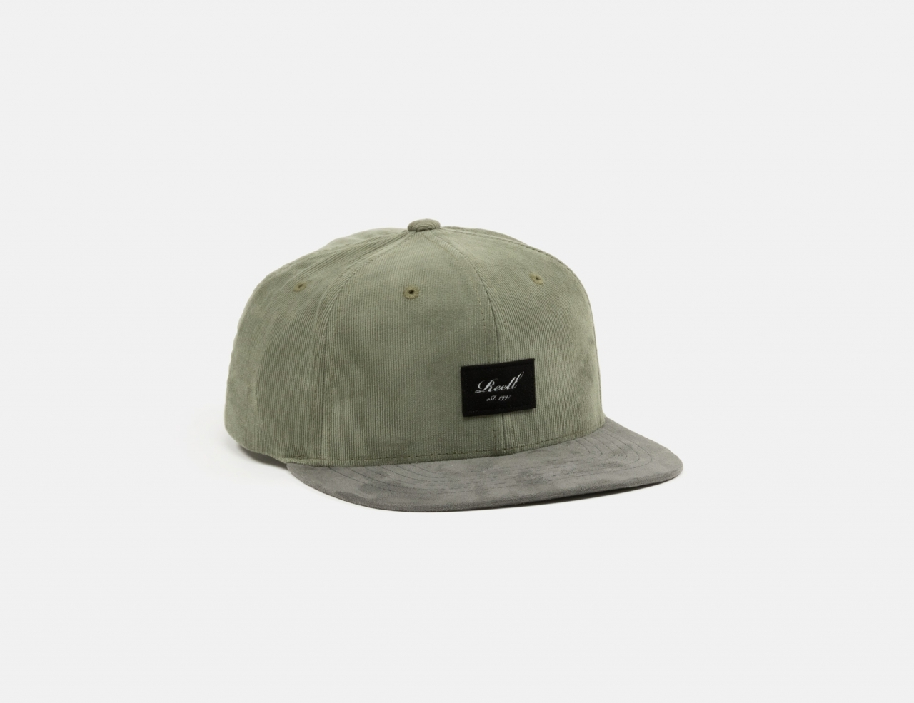 Reell Jeans Suede Cap - Grey Green Ribcord