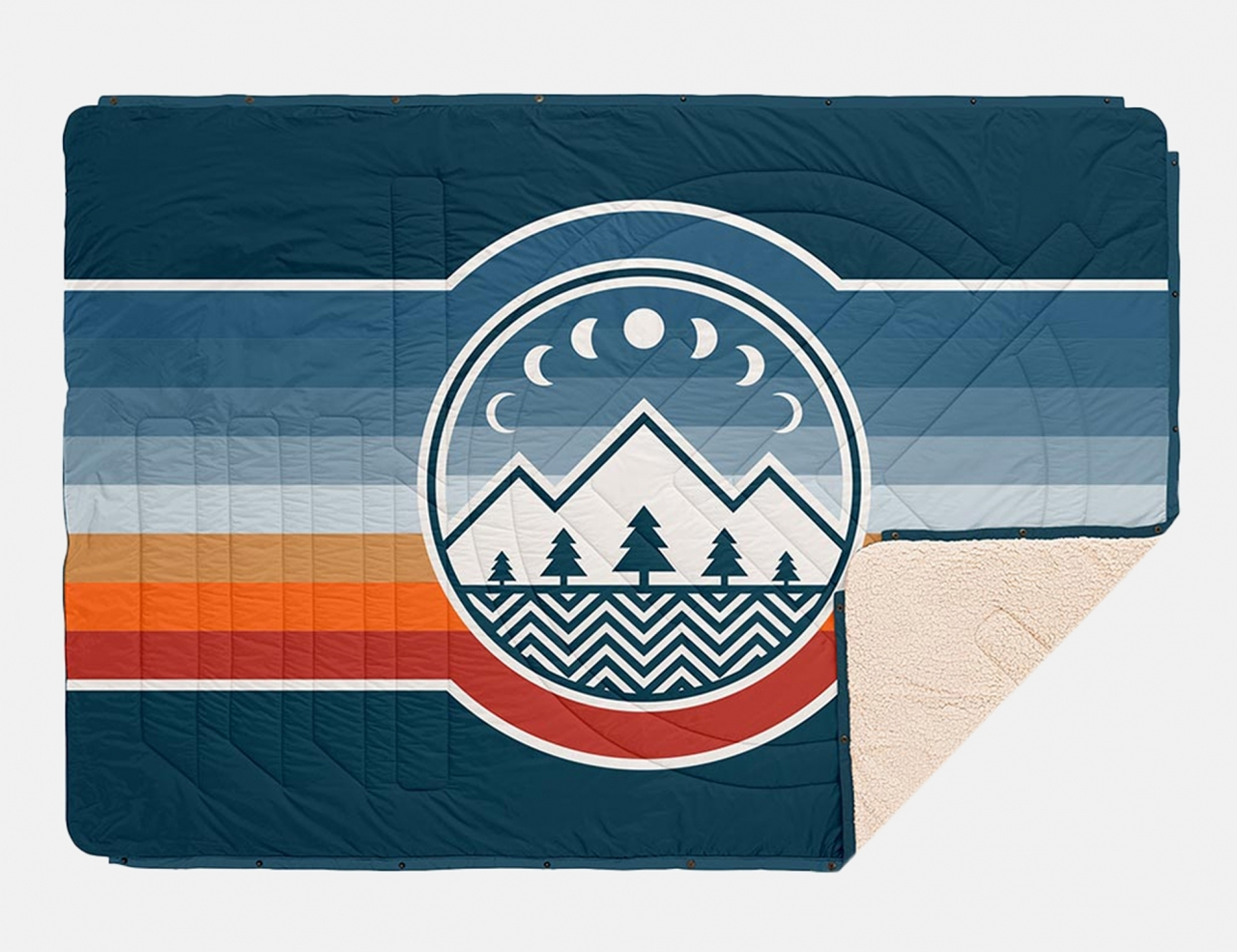 Voited CloudTouch Pillow Blanket - Camp Vibes 2
