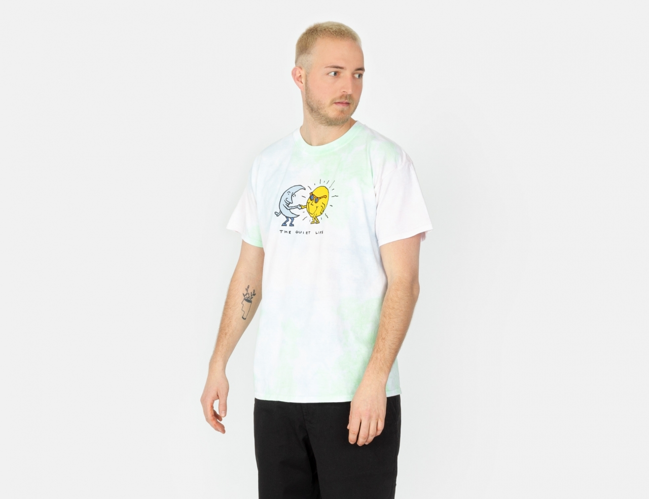 The Quiet Life Sun and Moon T-Shirt - tie dye