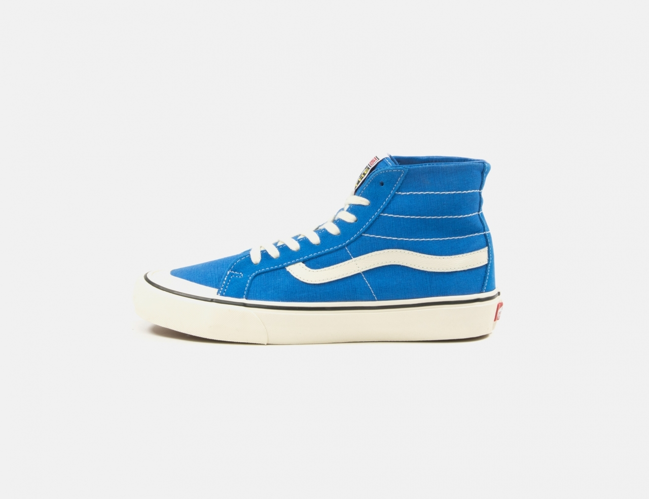 VANS Sk8-Hi 138 Decon SF Sneaker - (Salt Wash) Directoire Blue / Antique white