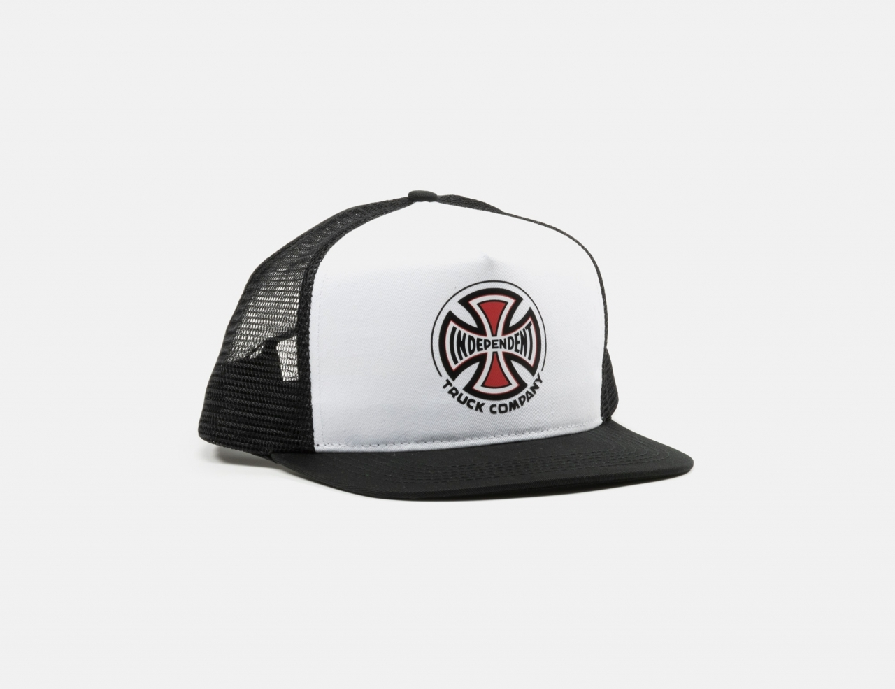 Independent Truck Co Mesh Cap - White / Black