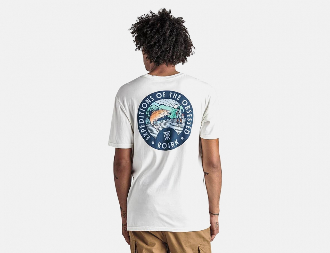 Roark Expedition Of The Obsessed T-Shirt - White