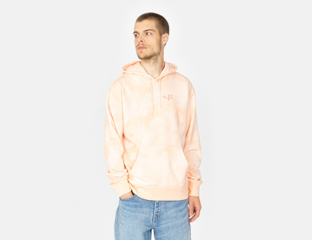 Nike SB HBR Hoodie - Orange Pearl / Coconut Milk