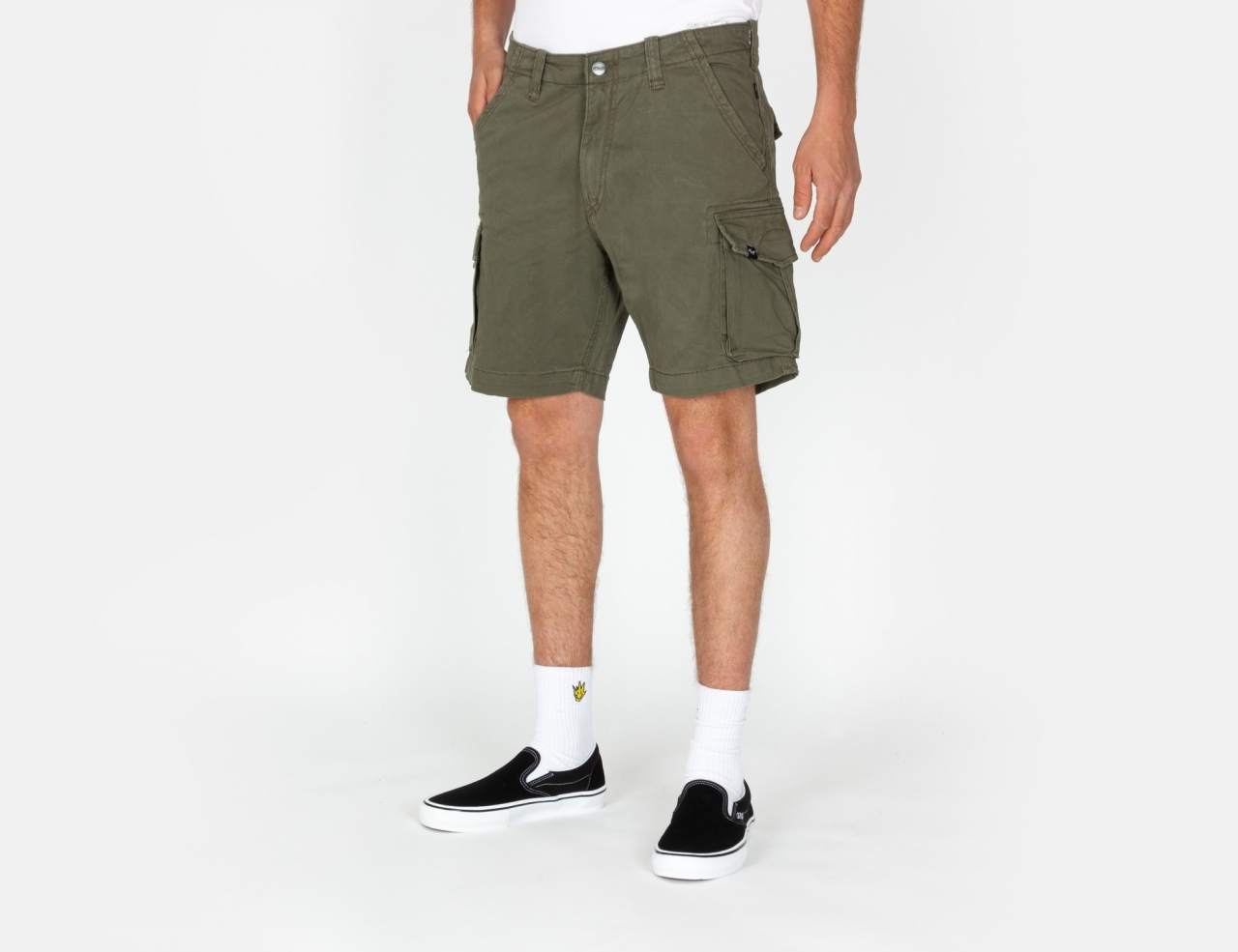 Reell Jeans City Cargo Short - Olive