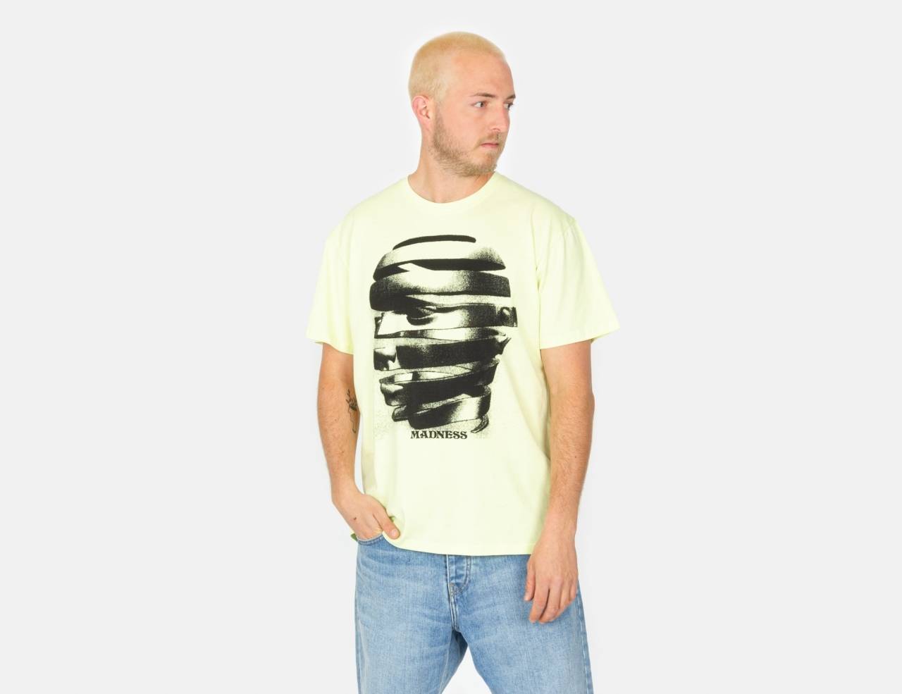 Madness Wrapped T-Shirt - Green