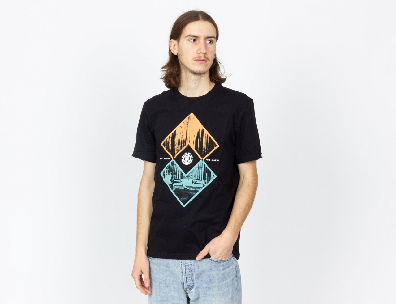 Element Intersects T-Shirt - Black