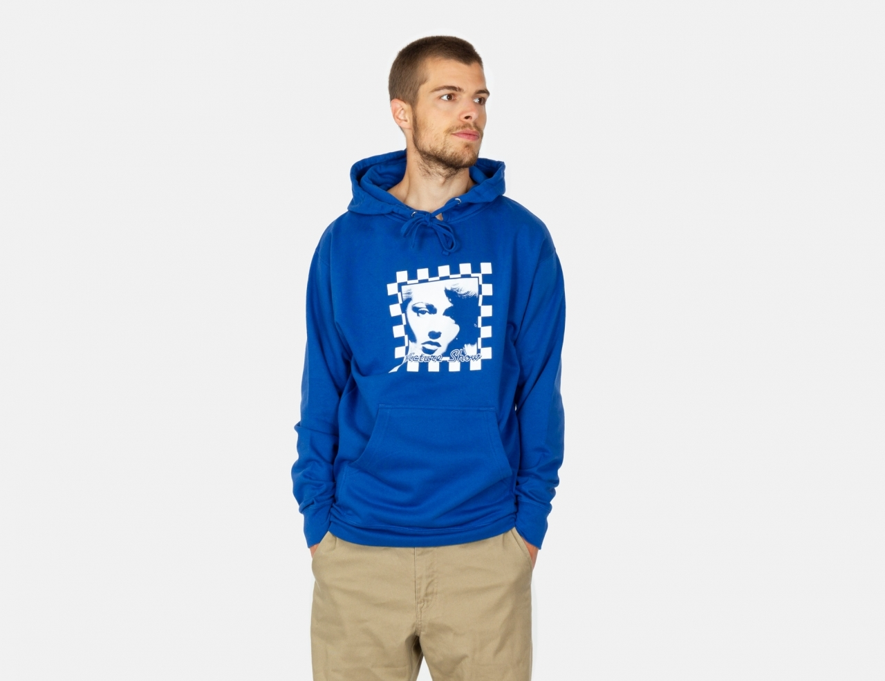 Picture Show Homecoming Hoodie - Royal