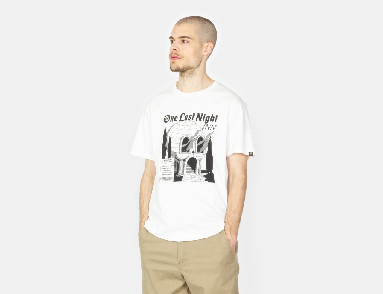 The Dudes One Last Night T-Shirt - Off-White