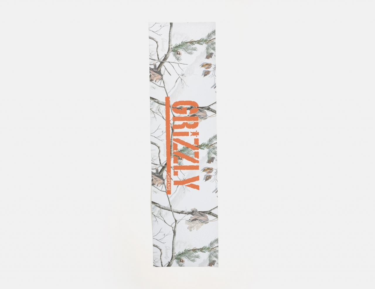 Grizzly Winter Camo Stamp Griptape