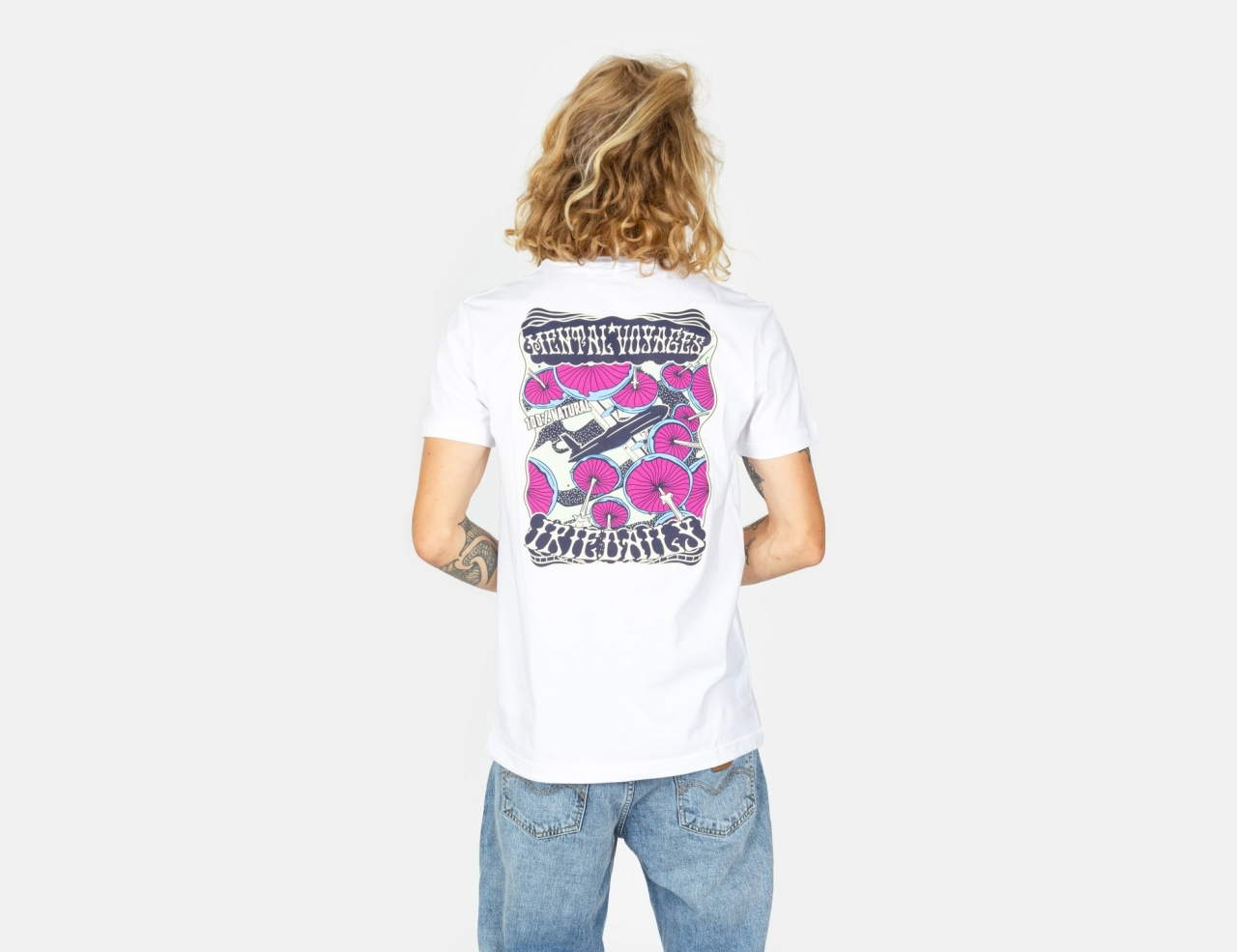 Iriedaily Mental Voyages T-Shirt - White