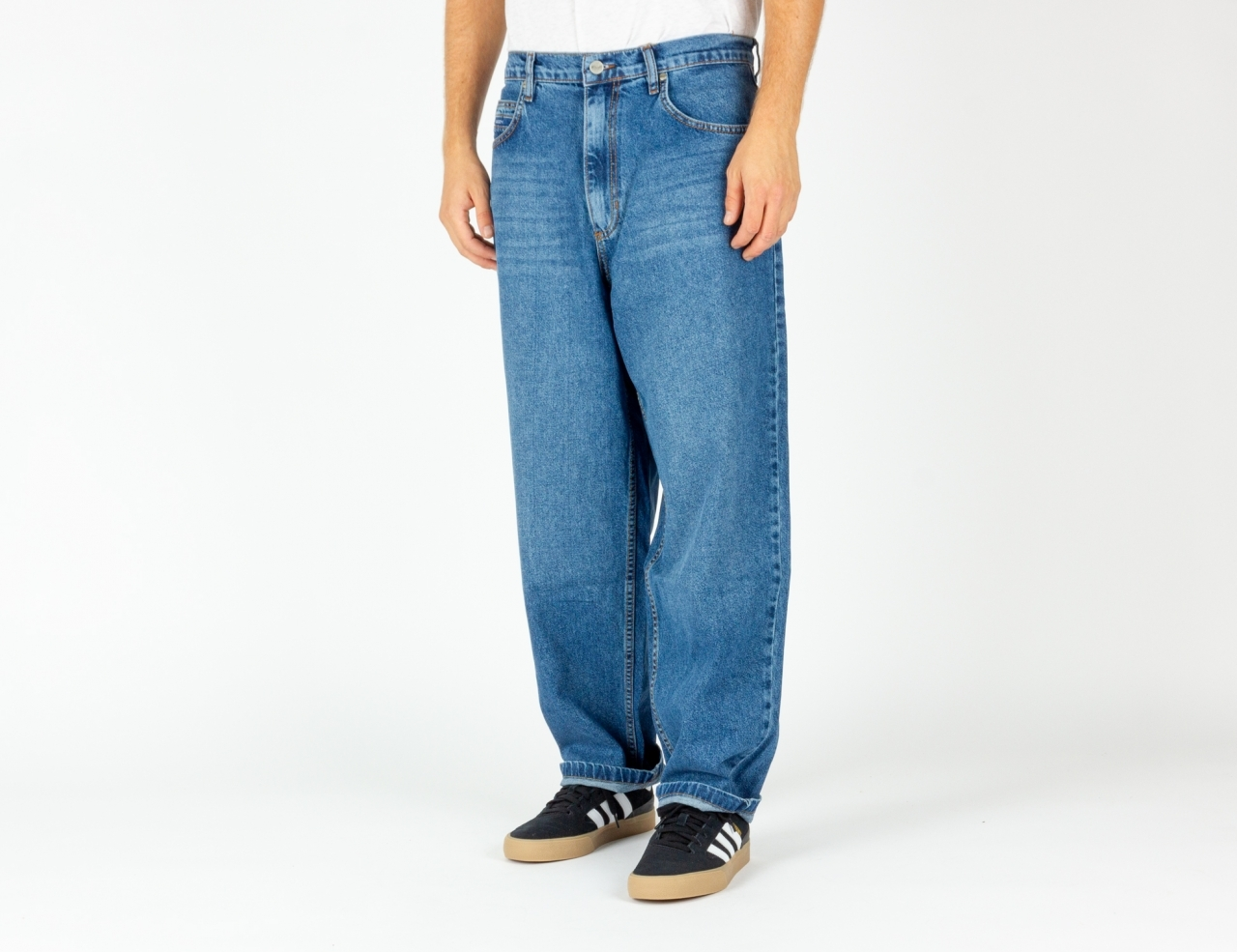 Reell Jeans Baggy Jeans - Faded Mid Blue
