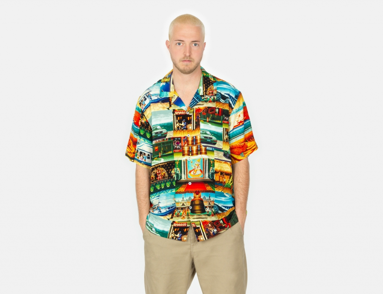 HUF Stages S/S Shirt - Multi