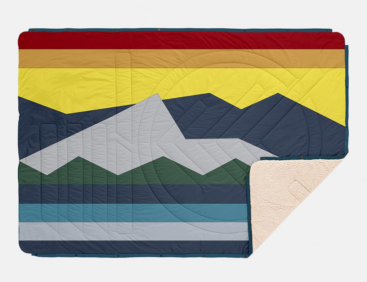 Voited CloudTouch Pillow Blanket - Moraine
