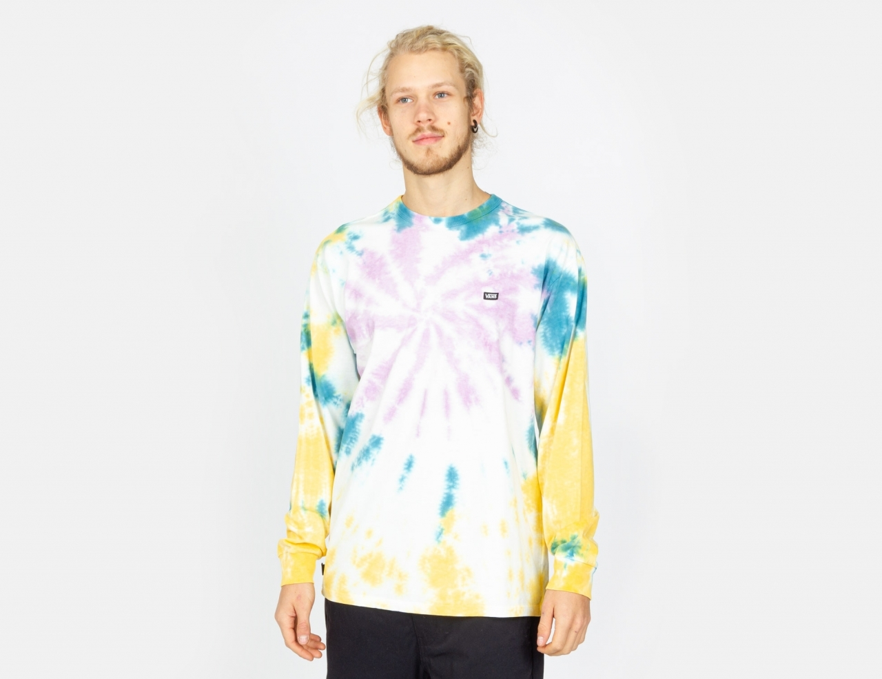 VANS Off The Wall Classic Spiral Tiedye Longsleeve -
