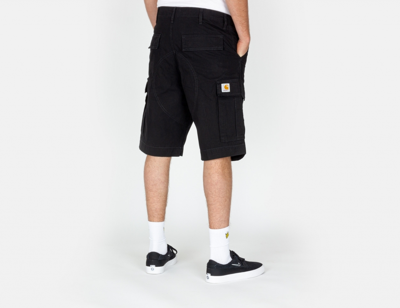Carhartt WIP Regular Cargo Shorts - Black
