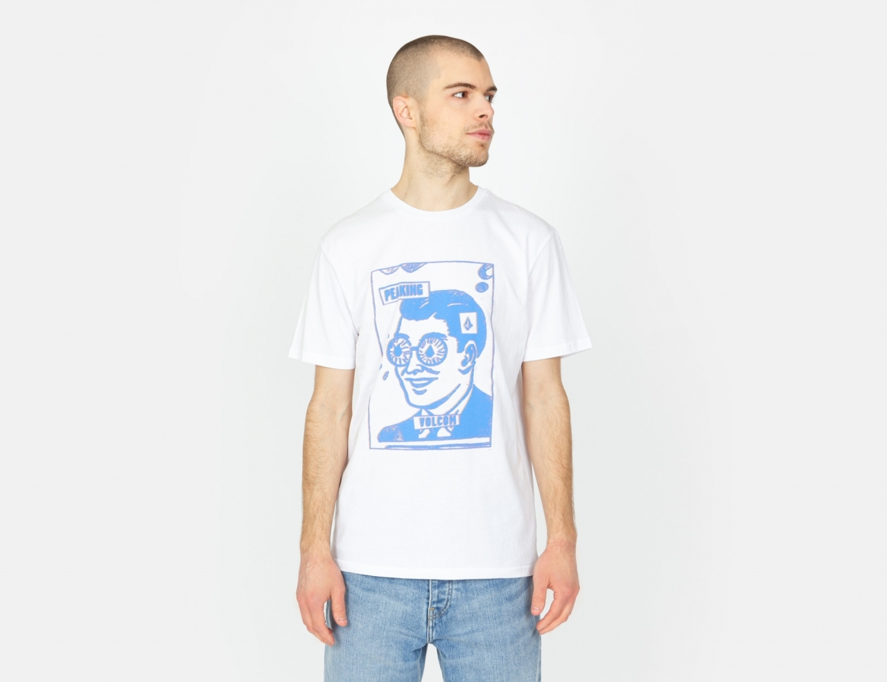 Volcom Peaking Bsc T-Shirt - White