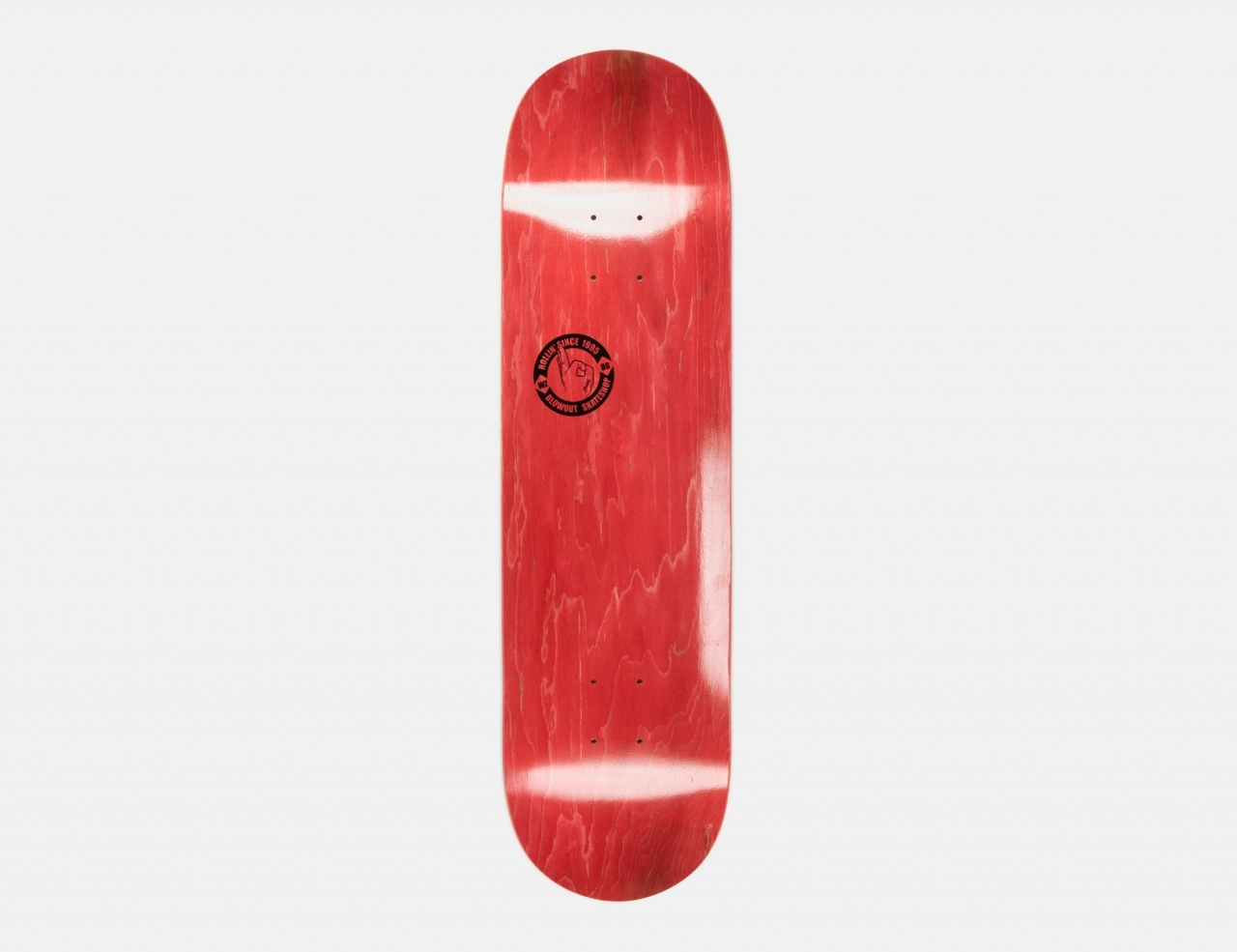 Blowout Hand Logo 8.0 Deck - Red