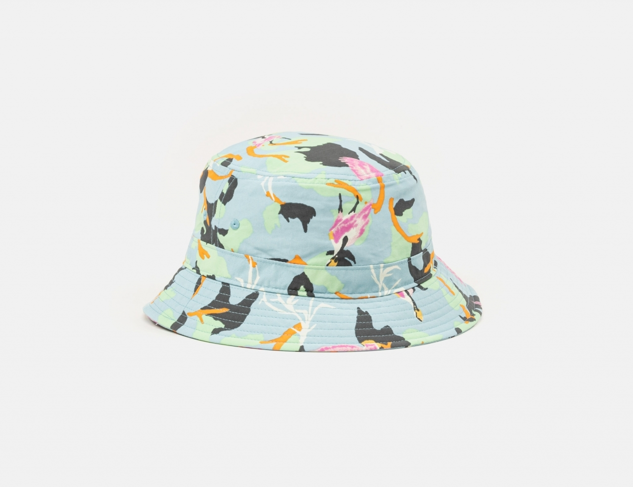 Patagonia Wavefarer Bucket Hat - Spoonbills / Big Sky Blue