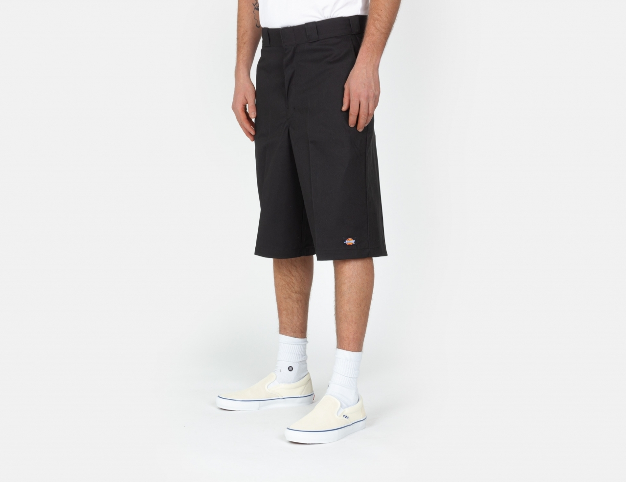Dickies 13in Mlt Pkt Chino Shorts - Black