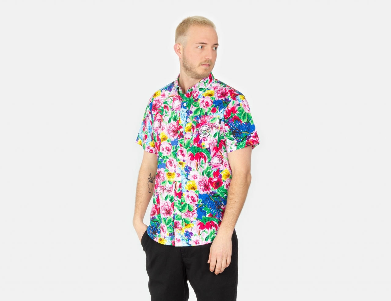 The Quiet Life Take A Break S/S Shirt - Floral