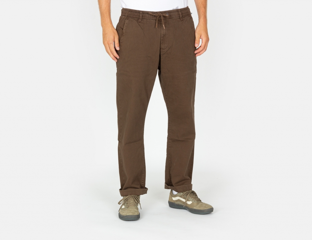 Reell Jeans Reflex Loose Chino Pant - Dark Brown