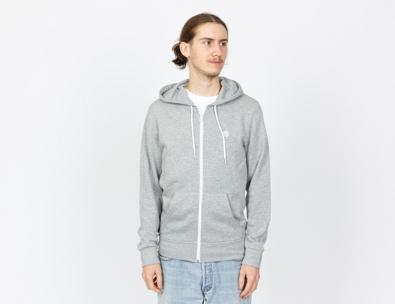 Element Cornell Zip Hoodie - Heather Grey