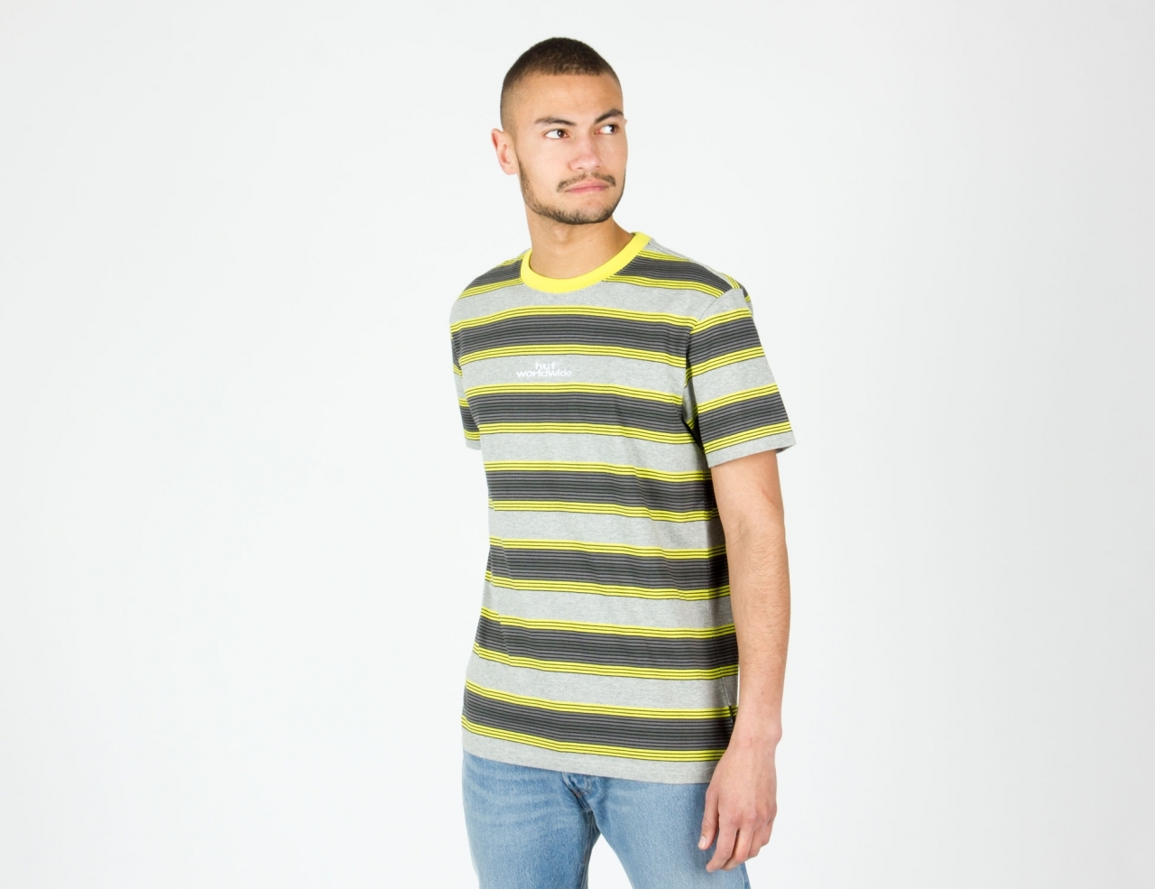 HUF Travis Knit Top - Hot Lime