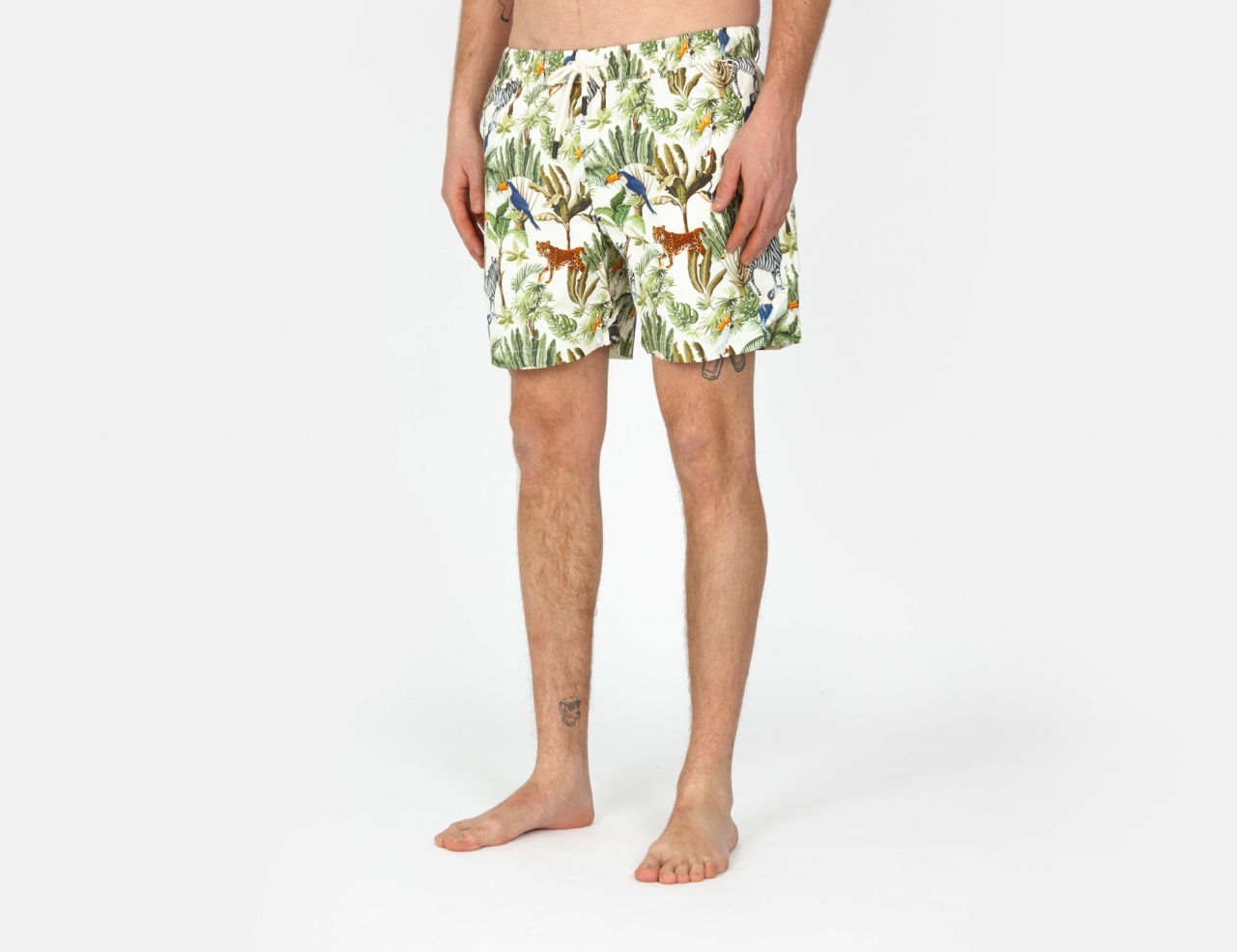 Wemoto Cats Shorts - Sand