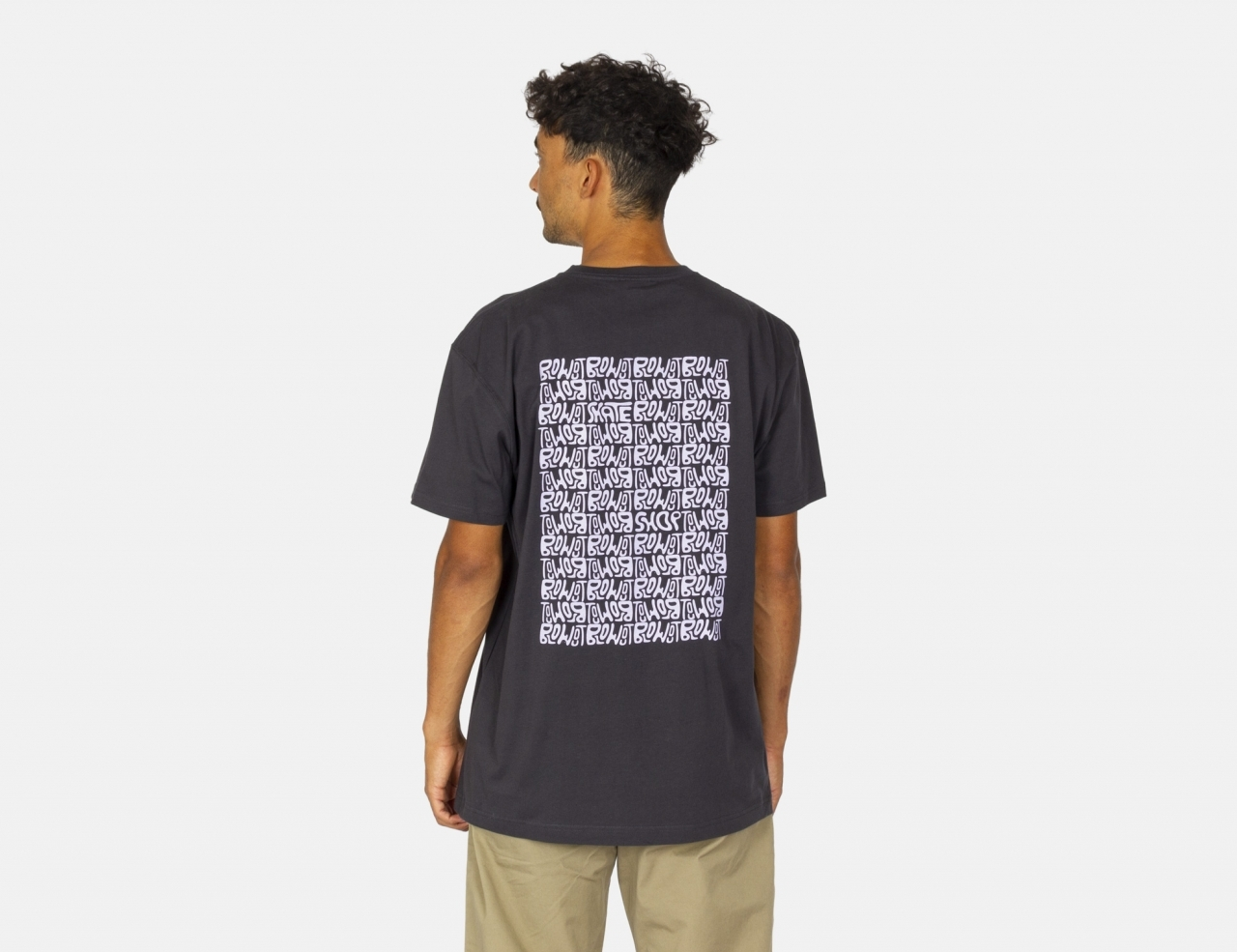 Blowout Psychedelic T-Shirt - Black