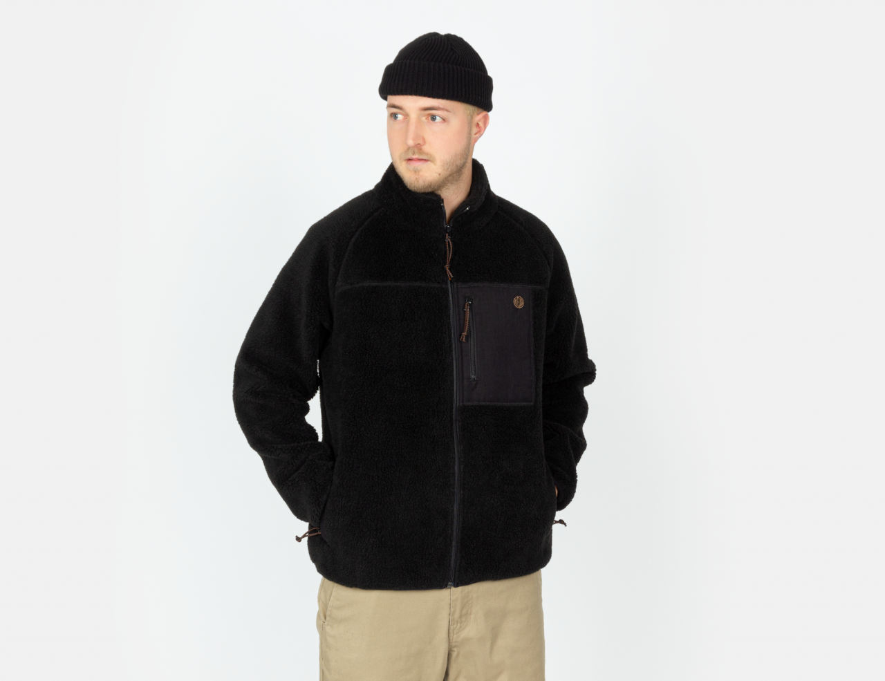 Deus ex Machina Mackay Fleece - Black