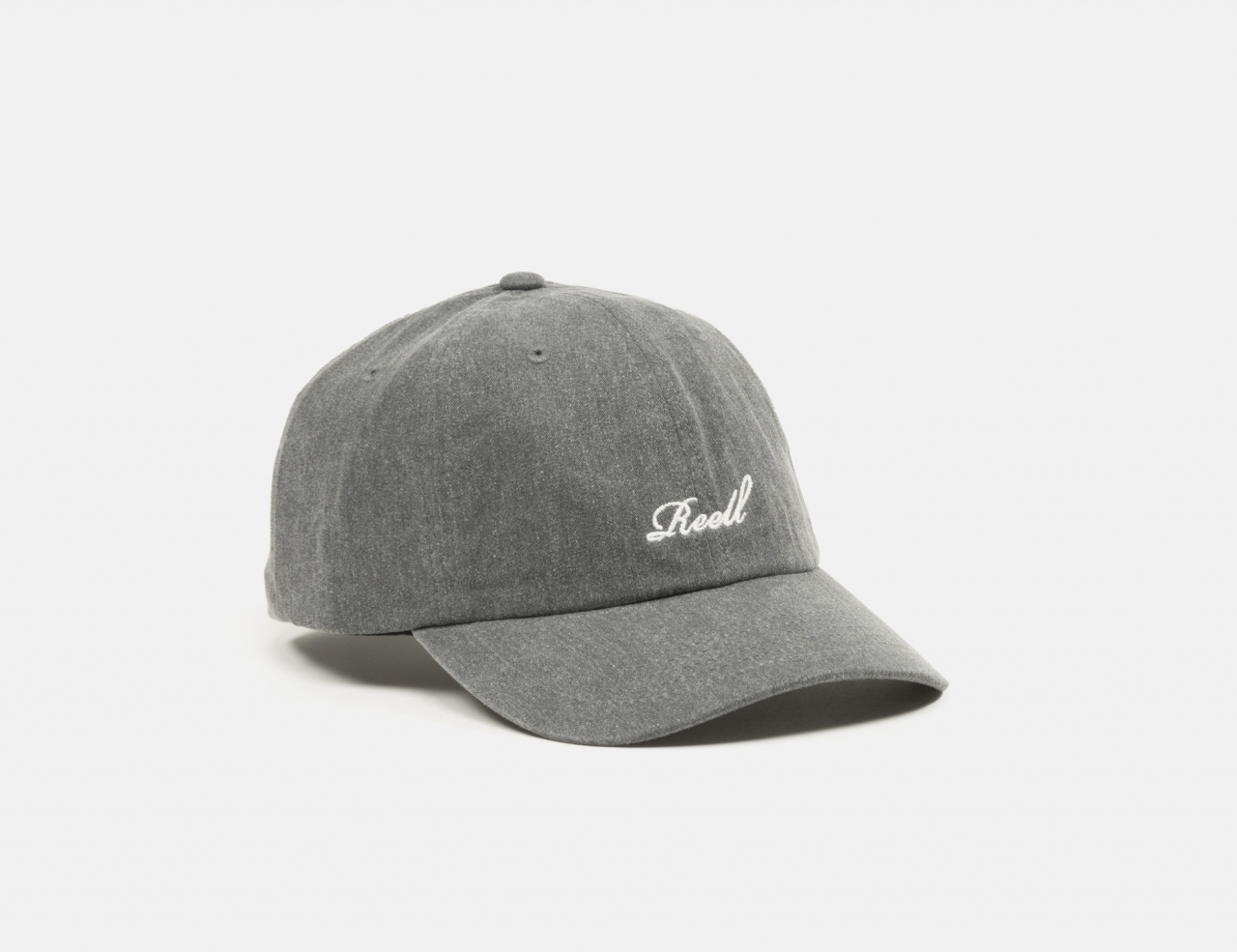 Reell Jeans Single Script Cap - Washed Charcoal
