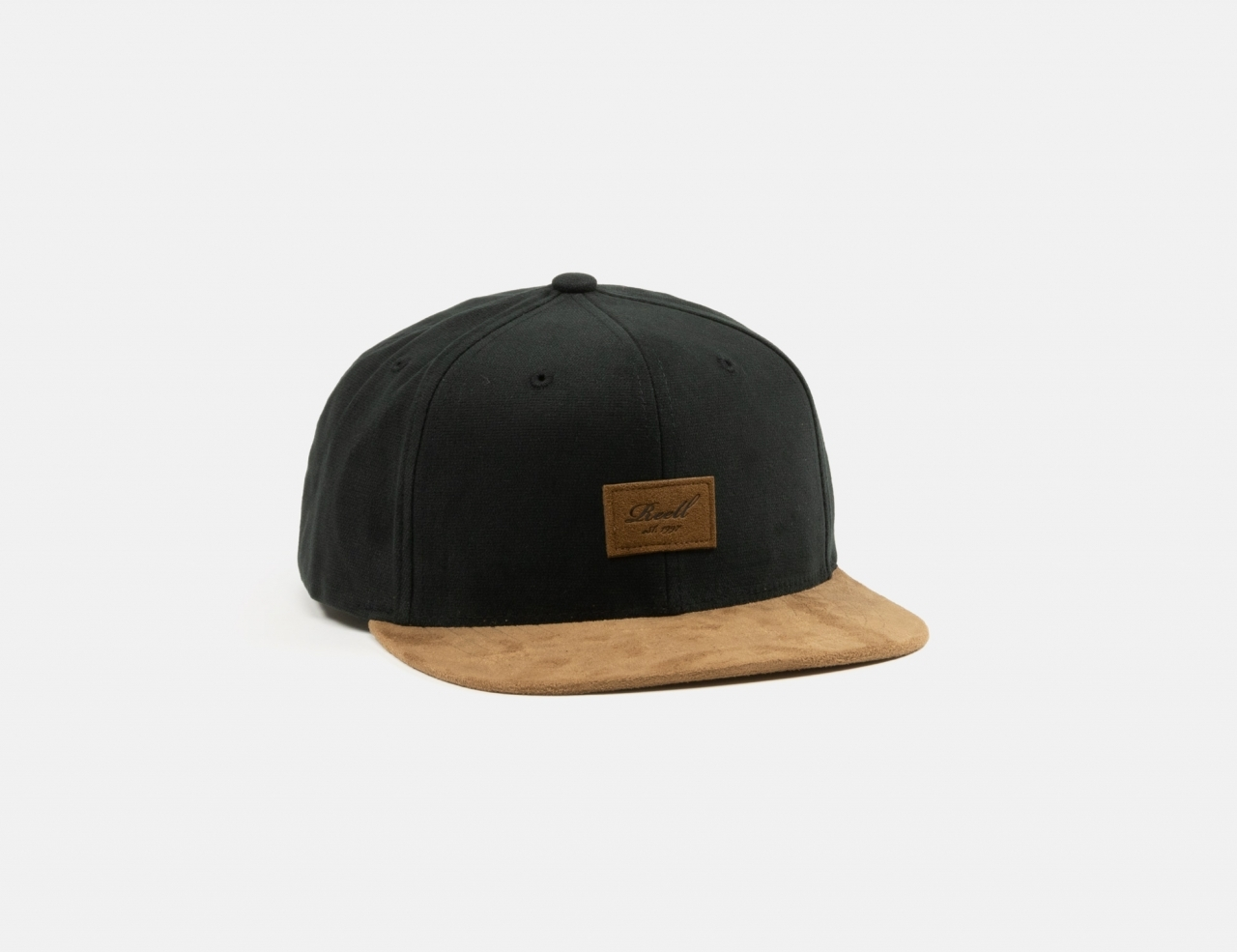 Reell Jeans Suede 6-Panel Cap - Black