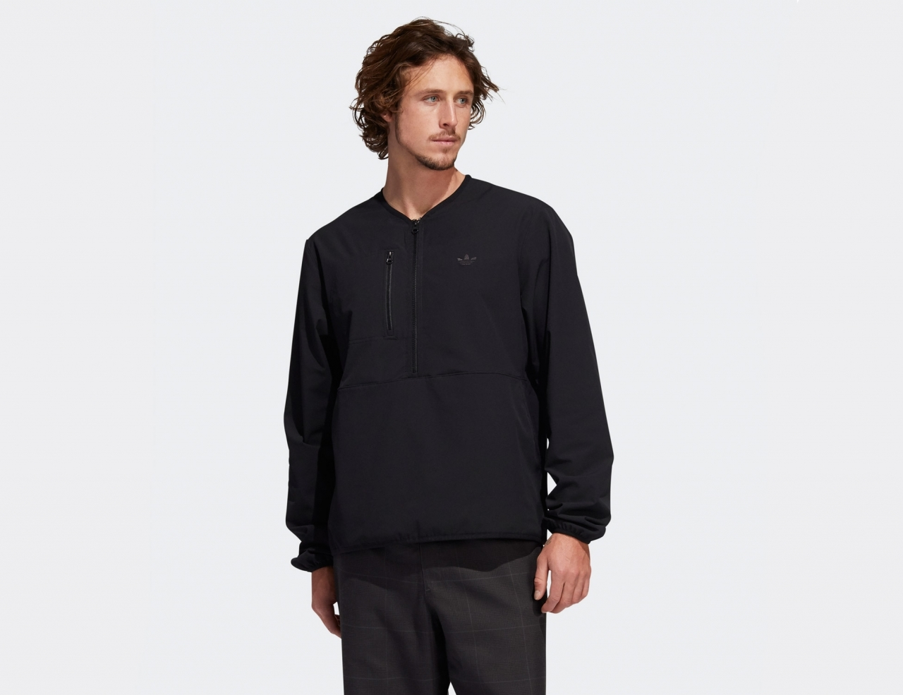 Adidas Liner Pullover - Black / Oyster White
