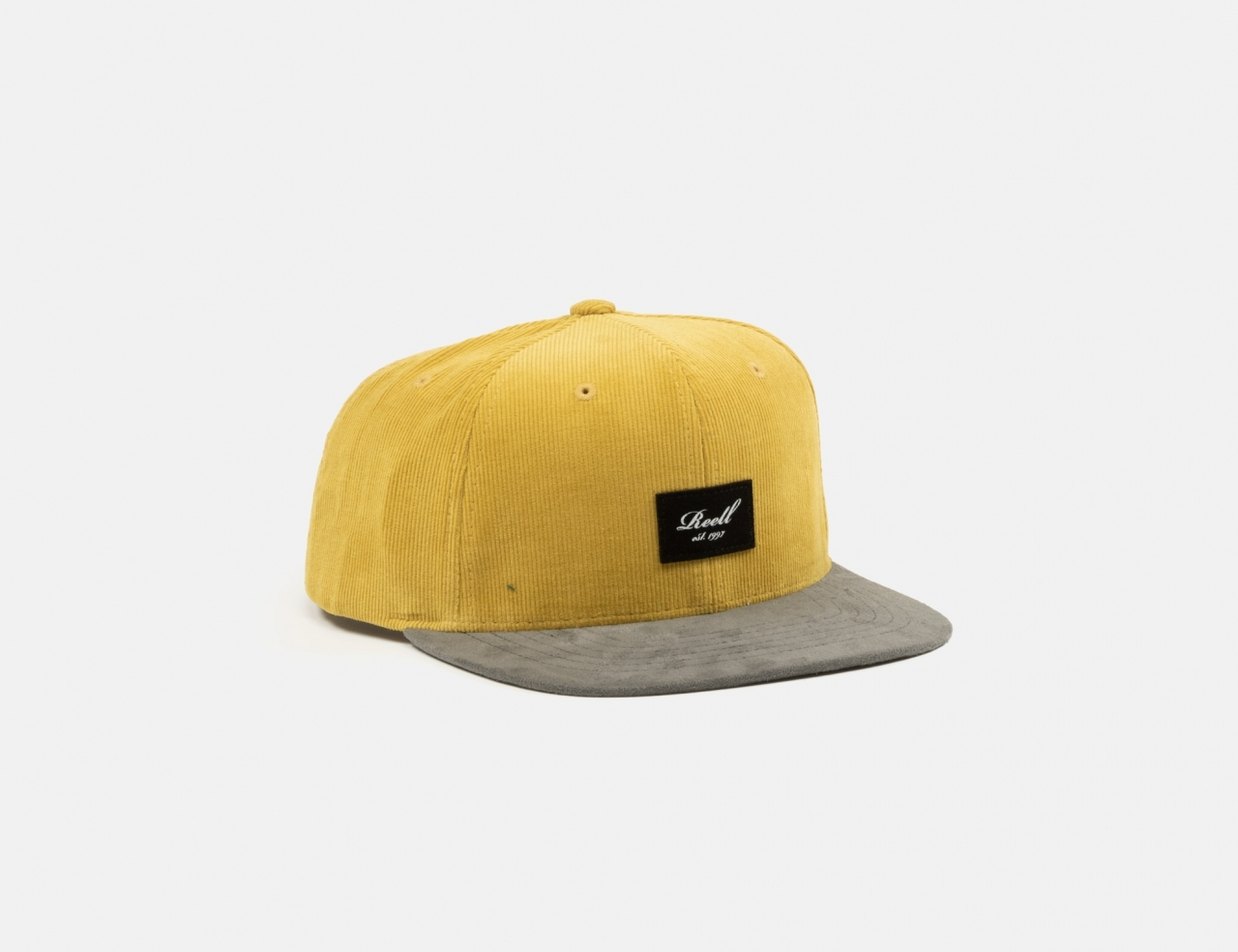 Reell Jeans Suede Cap - Yellow Brown Ribcord