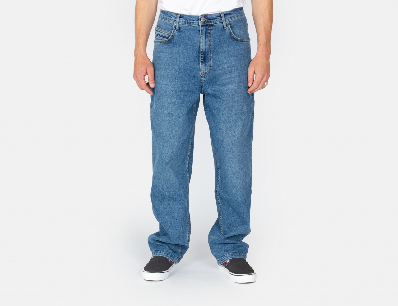 Reell Jeans Baggy Jeans - Retro Mid Blue