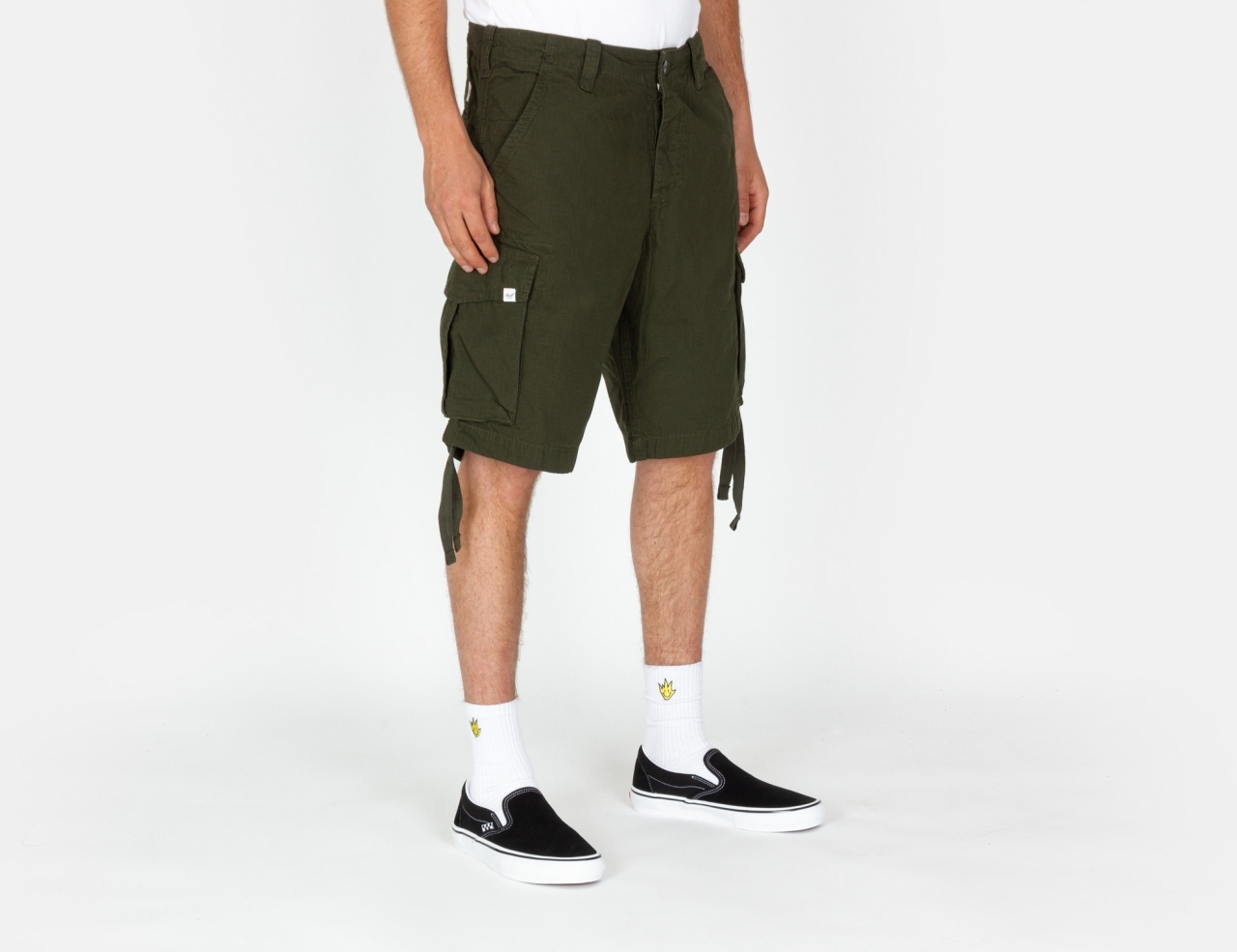 Reell Jeans New Cargo Shorts - Forest Green